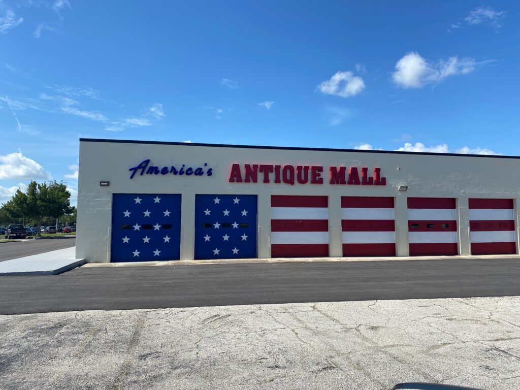 Outside view of America's Antique Mall