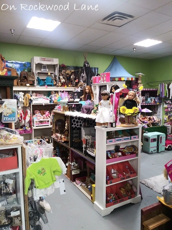 """18"""" doll store"""