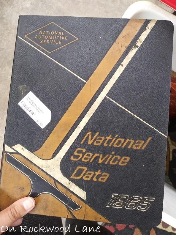 1965 National Service Data book