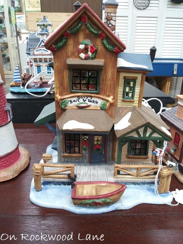 Gary's Bait & Tackle Christmas village