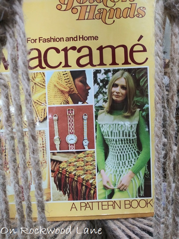 Golden Hands Macrame for Fashion and Home book