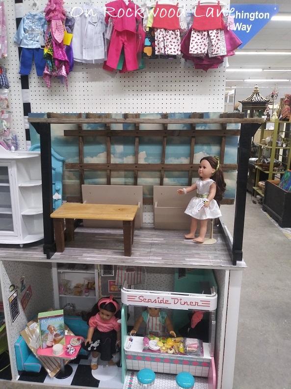 "18"" doll farmer's market scene"