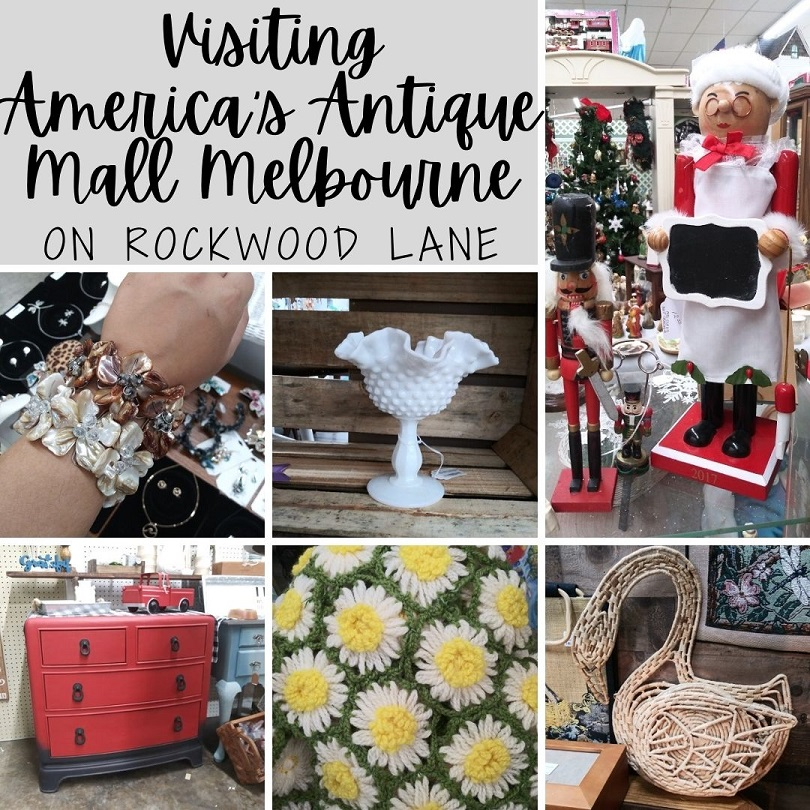 Visiting America's Antique Mall in Melbourne by On Rockwoood Lane