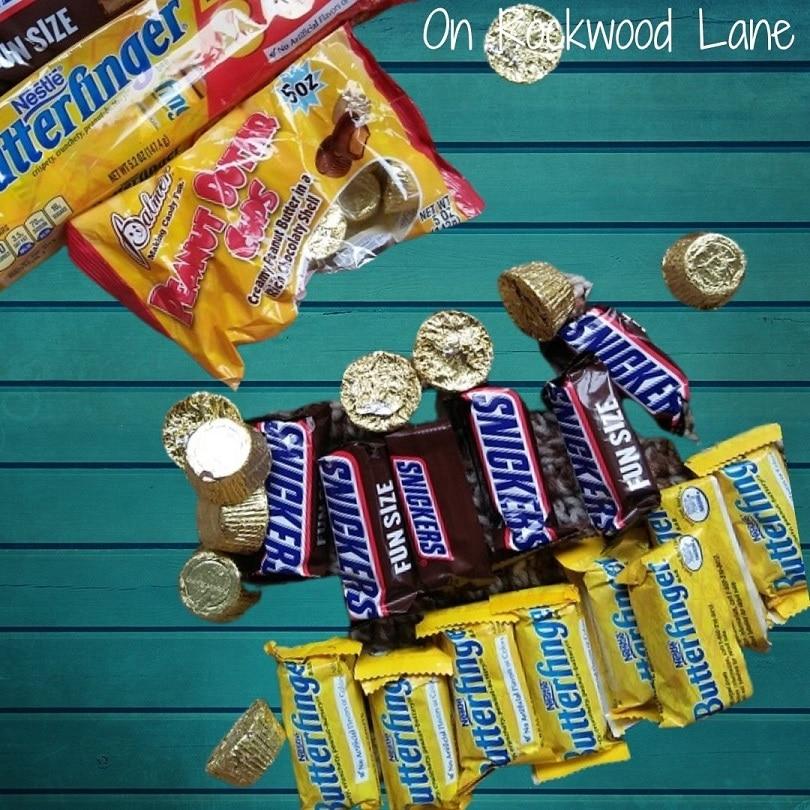 Snickers, Butterfingers, Rolos, On Rockwood Lane