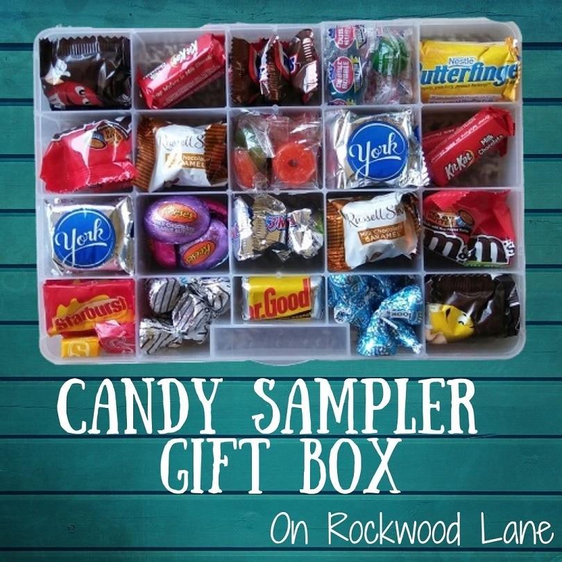 Candy Sampler Gift Box On Rockwood Lane