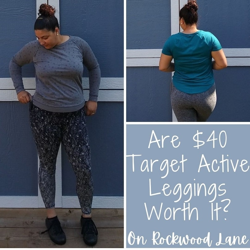 Are $40 Target Active Leggings Worth It? On Rockwood Lane