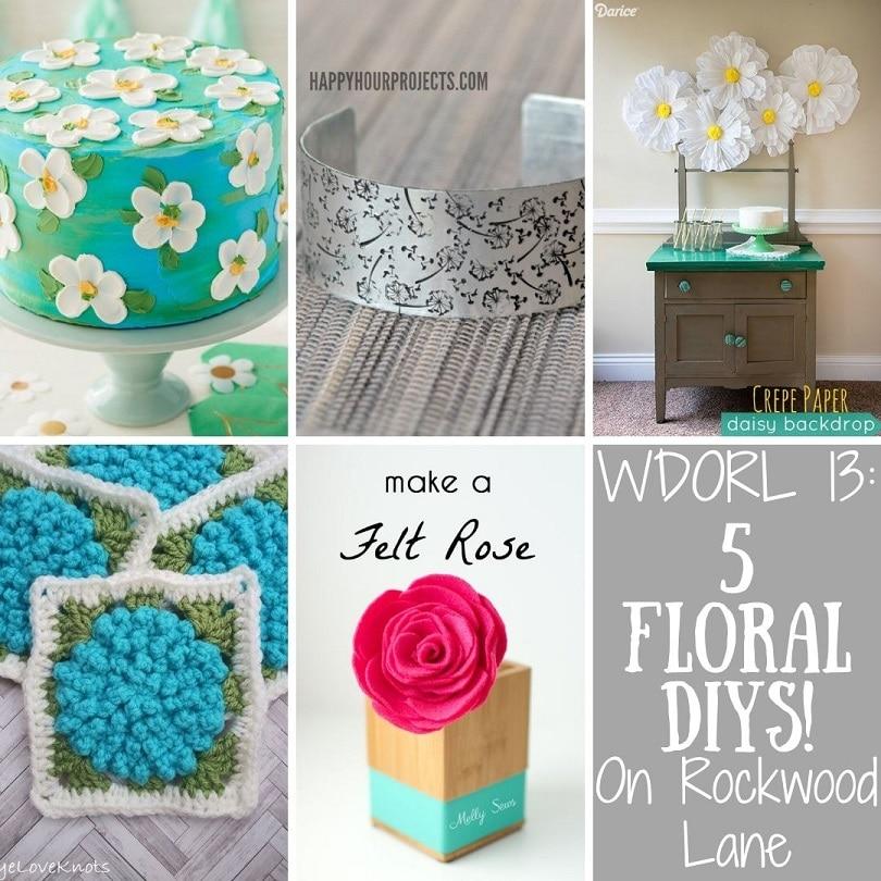 5 Floral DIYs On Rockwood Lane