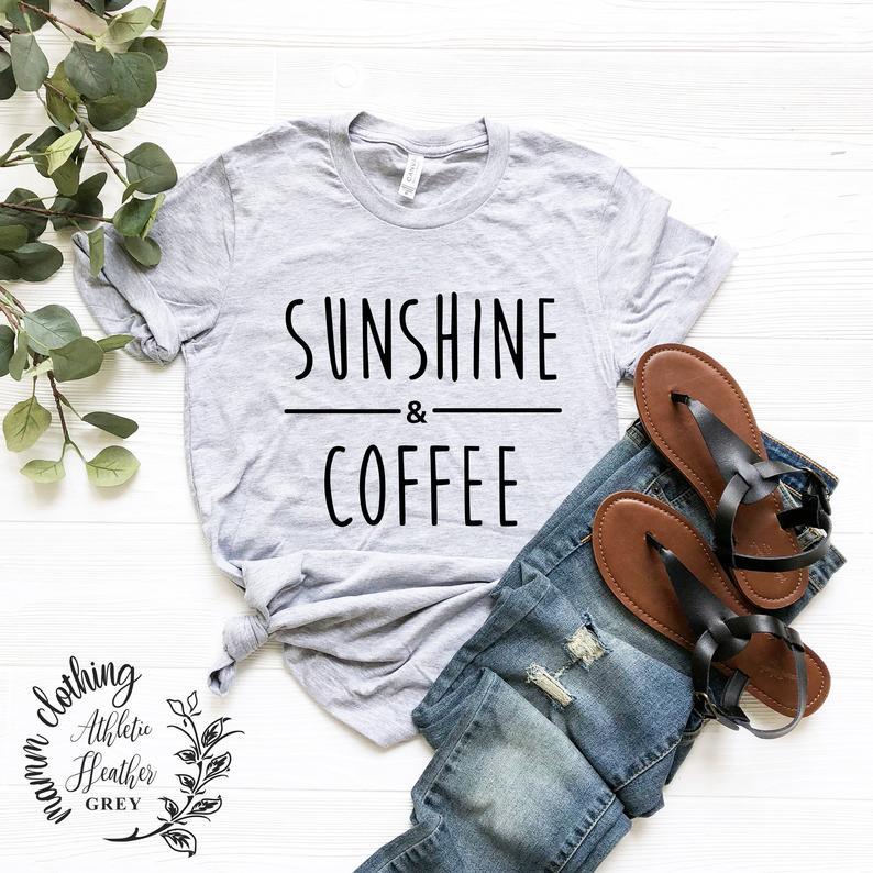 Sunshine & Coffee T-Shirt (aff link)